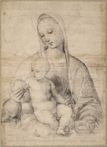 Raphael_-_Madonna_of_the_Pomegranate,_c._1504_-_Google_Art_Project