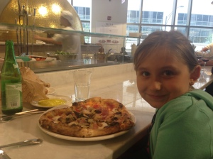 Heart Shaped Pizza, Eataly Chicago